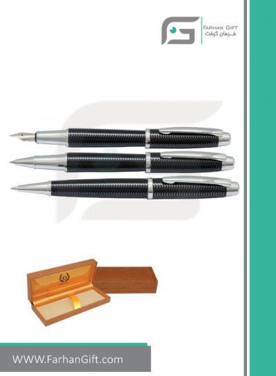 قلم نفیس ایپلمات pen iplomat allianz-black-قلم تبلیغاتی ایپلمات فرهان گیفت