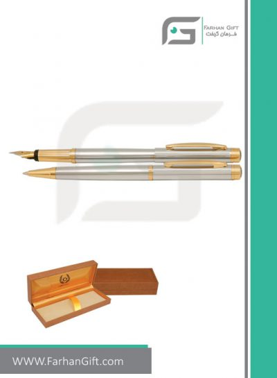 قلم نفیس ایپلمات pen iplomat ellesse-steel-قلم تبلیغاتی ایپلمات فرهان گیفت
