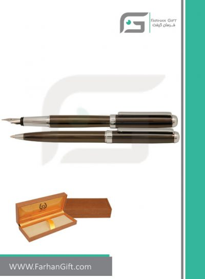 قلم نفیس ایپلمات pen iplomat -Smoked-color قلم تبلیغاتی ایپلمات فرهان گیفت