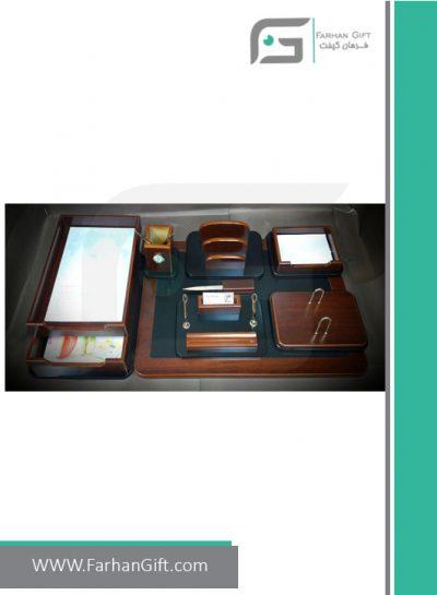 ست رومیزی مدیریتی کد 1-108-Management desk set-سرویس اداری رومیزی فرهان گیفت