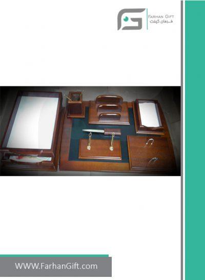 ست رومیزی مدیریتی کد 185-Management desk set-سرویس اداری رومیزی فرهان گیفت